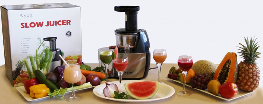 Electric Cold Press/Slow Juicer -Ayon Diamond compact coldpress juice extractor eBay